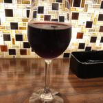 138289043 - 赤ワイングラス