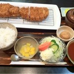 13829594 - ジャンボとんかつ定食