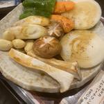 炭火焼 ぐら - 野菜焼き