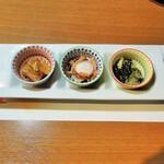 京風炉端 花格子 - 料理写真:お通し