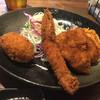 フライド ダイナー フカダ - 料理写真:ミックスフライ定食