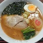 るの亭 - ラーメン(しょう油味)