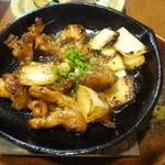 鶏海山の幸おかだ - 和牛ホルモン焼き