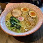 福田 中華そば - 地鶏塩味玉