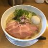 自家製麺 TERRA - 料理写真:コク塩テラ+味付き玉子