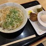セルフうどんやま - 料理写真:朝定3