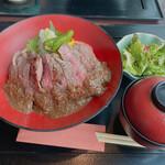 星空の中へ - ステーキ丼 千円