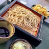 そば処 花鳥野 - 料理写真:もりそば+百合根天ぷら