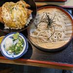 Ichifuku - チキンカツ丼とざるそば