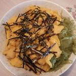 あら川 - うに丼(1900円)
