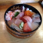 たか鮨 - 生ちらし ¥700