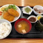 龍食堂 - 料理写真:コロッケ定食