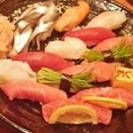 13834973 - お寿司の盛り合わせ
