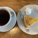 ジジコーヒー - タンザニアとケーキ
