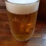 焼処わたべ - ドリンク写真:ビール