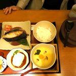 鈴波  - 料理写真:鈴波御膳寄せ豆腐とろろ付き