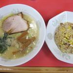 太昇亭 - 半チャン塩ラーメン