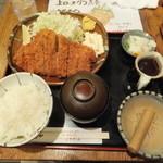 大作 - 特ロースかつ定食1730円