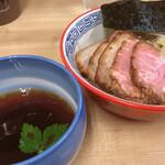麺処 有彩 - 料理写真:昆布水つけ麺醤油、チャーシュ3枚追加