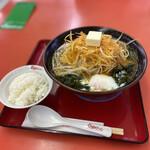 くるまやラーメン - ネギ味噌スタミナ大盛