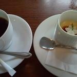 13836077 - 本日のデザート&コーヒー