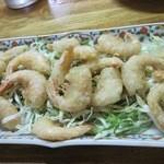 美喜 - 料理写真:小海老の唐揚げ