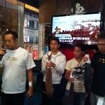 北さつま漁港 - ボクシングの世界チャンピオン 井岡一翔選手の祝勝会が行われてます!!