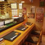 双葉寿司 - カウンターの他に小上がり等もあります