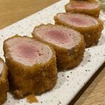 Tonto - ヒレ肉1本カツ 出汁おろしで