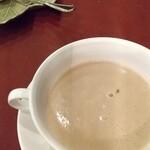 Resutorantoriibira - 栗のポタージュスープ