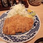 とんかつ はま田 - 料理写真:ロースカツ200g