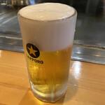 新天地 みっちゃん - 生ビール