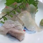 紀八寿司 - 天然鯛刺身