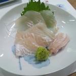 紀八寿司 - 青森産・天然ひらめ刺身