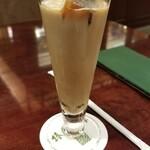 椿屋珈琲店 - エチオピアアイスカフェオレ(1430円)