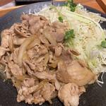 Nikunoyamakin - やま金豚盛の大盛(200g