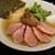 鶏そば・ラーメン Tonari - 料理写真:ポルチーニ香る鴨チャーシュー塩そば 1,300円