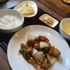 Morihanten - 料理写真:酢豚定食930円