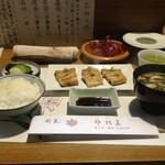 佐阿美 - 鰻ランチ 白焼1800円