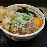 狭山そば - 料理写真:天玉そば
