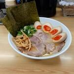 鶏麺亭 - 料理写真:特製和風ラーメン  (醤油)  + ランチサービス味玉