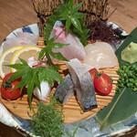 串焼 博多 松介 - 刺し盛り