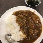 Gunaihanten - 加哩飯と、セットのスープ