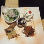 13839056 - 前菜5種盛り合わせ1,260円