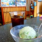 かめ吉 - あおさアイスクリーム