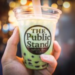 The Public stand - まだまだ人気のタピオカカクテルも!