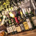 The Public stand - もちろん別料金でジャパニーズウイスキー、バーボン、スコッチもご用意♪