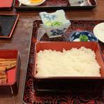 うなぎ・てんぷら 魚とめ - 料理写真: