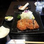 Shunsai - 特選ロースカツ定食¥1150