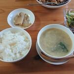 138400033 - ザーサイ・ごはん・スープ